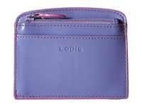 Lodis Audrey Laci Card Case Lilac Rose Wallet Blue