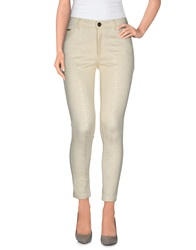 Hotel Particulier Casual Pants Ivory