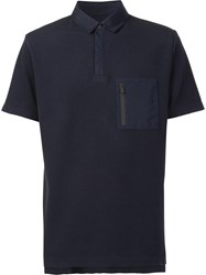 Aztech Mountain 'Maroon Creek' Polo Shirt Blue