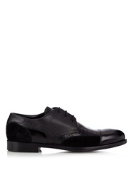 Alexander Mcqueen Leather And Suede Derby Shoes