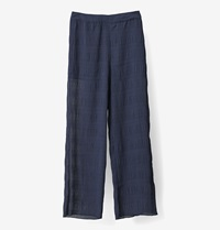 Ganni Hall Pleat Pants Total Eclipse Huh. Store