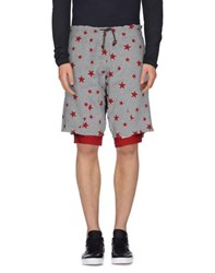 The Editor Trousers Bermuda Shorts Men Light Grey
