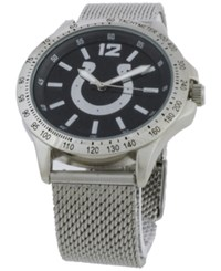 Game Time Indianapolis Colts Cage Series Watch Silver Black