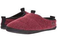 Bedroom Athletics Travolta Burgundy Fleck Men's Slippers Brown
