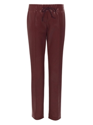 Christopher Kane Wet Look Cropped Trousers