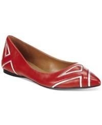 French Sole Fs Ny Quiver Contrast Flats Women's Shoes