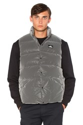 Penfield Outback Reflective Down Vest Charcoal