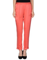 Her Shirt Casual Pants Coral
