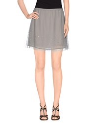 Red Soul Skirts Mini Skirts Women Grey