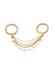 Marc Jacobs Strand Link Double Ring Metallic