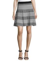 Romeo And Juliet Couture Knit Skirt Black White