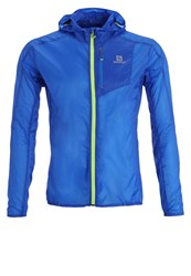 Salomon Fast Wing Sports Jacket Union Blue