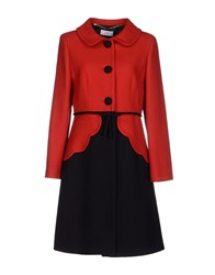 Clips More Coats And Jackets Full Length Jackets Women Red