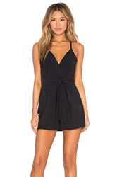 Finders Keepers Blow Your Mind Romper Black