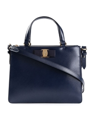 Salvatore Ferragamo Bow Top Handle Tote