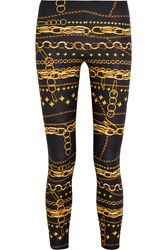 Versus Printed Stretch Jersey Leggings