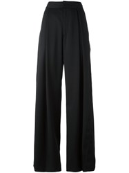 A.F.Vandevorst High Waisted Palazzo Pants Black