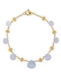 Marco Bicego Paradise Chalcedony Bracelet In 18K Yellow Gold