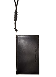 Campbell Cole Simple Coin Pouch Black