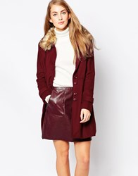 Sugarhill Boutique Lucy Coat Red