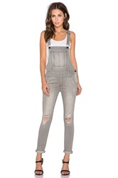 Black Orchid The Skinny Overall Gray