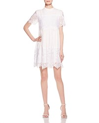 Kendall And Kylie Kendall Kylie Lace Babydoll Dress White