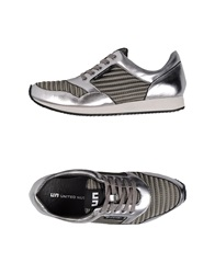 United Nude Low Tops And Trainers Grey