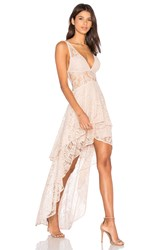 The Jetset Diaries Resort Maxi Dress Beige