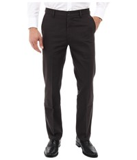 Dockers Signature Khaki D1 Slim Fit Flat Front Gibbons Steelhead Men's Dress Pants Black