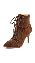 Joe's Jeans Austyn Lace Up Booties Hazel