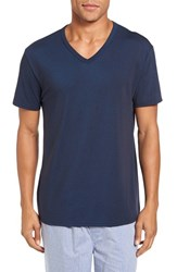 Nordstrom Men's Cotton Blend T Shirt Navy Mix