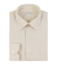 Stefano Ricci Striped Shirt Male Yellow
