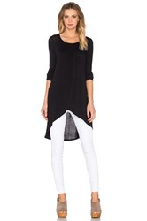 Bcbgeneration Long Layered Top Black