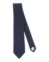 Umit Benan Accessories Ties Men Dark Blue