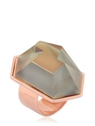 Nocturne Lygia Rose Gold Plated Ring