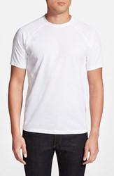 Men's Vince Camuto Raglan Sleeve T Shirt White