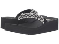Yellow Box Voice Black Women's Sandals