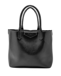 Givenchy Antigona Whipstitch Handle Tote Bag Black