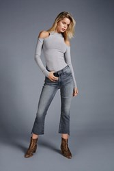 Mother Womens Insider Step Crop Flare
