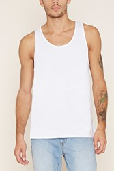 Forever 21 Cotton Scoop Neck Tank