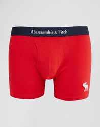 Abercrombie And Fitch Trunks In Red Red