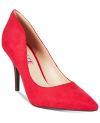 Mojo Moxy Dolce By Tammy Pointed Toe Pumps Women's Shoes Red