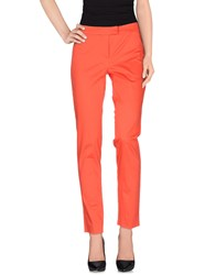 Marella Trousers Casual Trousers Women Red
