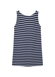 Mango Striped Dress Navy