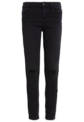 Noisy May Nmlucy Slim Fit Jeans Black