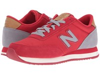New Balance Wz501 Red Grey Suede Textile Women's Shoes