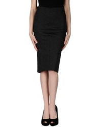 Liviana Conti Knee Length Skirts Lead