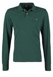 Gant Solid Regular Fit Polo Shirt Tartan Green Dark Green