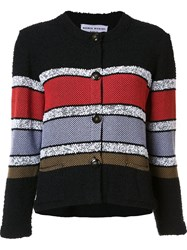 Sonia Rykiel Buttoned Cropped Jacket Black