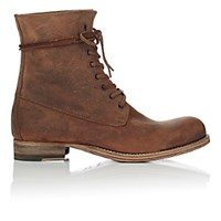 Peter Nappi Men's Leather Lace Up Boots Tan